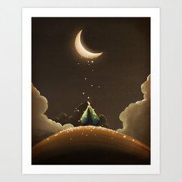 Moondust Art Print