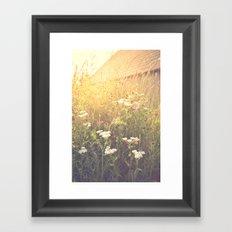 Boho Summer Sunshine Framed Art Print