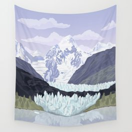 Glacier Bay National Park, Alaska, USA / Anchorage, Denali, Katmai, Kenai Fjords Wall Tapestry