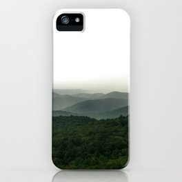 Green Mountain Majesties iPhone Case