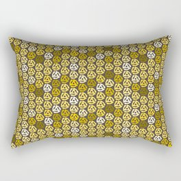 Gold 45 Rectangular Pillow