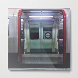 The tube Metal Print
