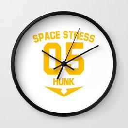 Hunk Wall Clock