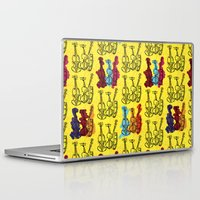 violin Laptop & iPad Skins featuring Violin by Emma Stein