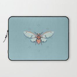 Orange and Blue Insect Laptop Sleeve