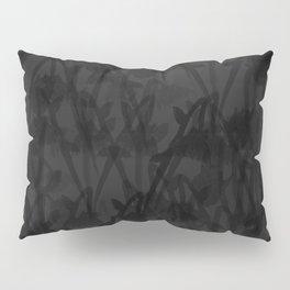 Gloomy Grey Gardens Pillow Sham