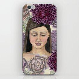 Flowerbed iPhone Skin