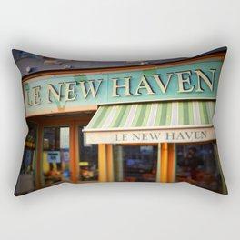 Le New Haven Restaurant Rectangular Pillow