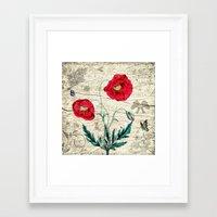 romantic Framed Art Prints featuring Romantic by Susann Mielke