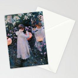 John Singer Sargent ; Carnation, Lily, Lily, Rose ; 1886 Stationery Cards