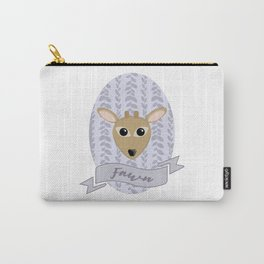 Fraulein Fawn Carry-All Pouch