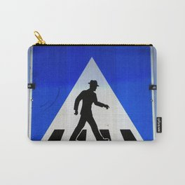 Well Dressed Man Crossing Carry-All Pouch
