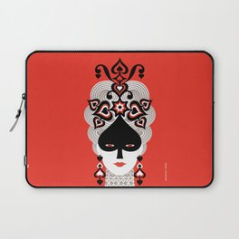 The Queen of spades Laptop Sleeve