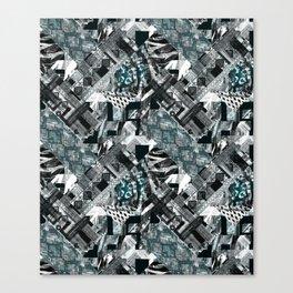 Exotic patchwork.2 Canvas Print