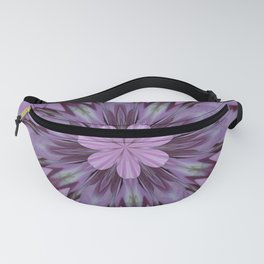 Floral Abstract Of Pink Hydrangea Flowers Fanny Pack