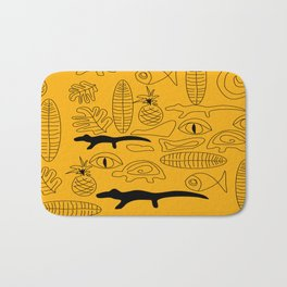 Crocodile Dream Bath Mat