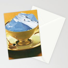 Ski time Stationery Cards