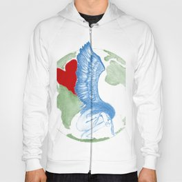 Earth Angel- Love Unearthed Hoody