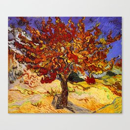 Vincent Van Gogh Mulberry Tree Canvas Print