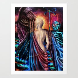 """Modern Venus"" Painting Art Print"