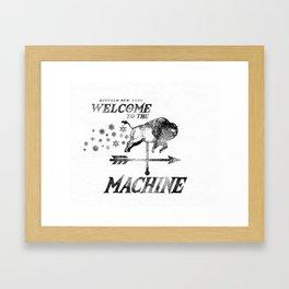 LAKE EFFECT MACHINE Framed Art Print