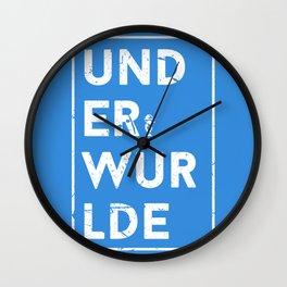 Underwurlde Wall Clock
