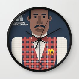 Coming to America, Eddie Murphy, prince  Akeem Joffer, John Landis movie poster, McDowell employee of the month, Il principe cerca moglie Wall Clock
