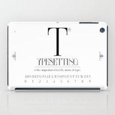 Type iPad Case