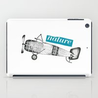 airplane iPad Cases featuring airplane by BarrySquire