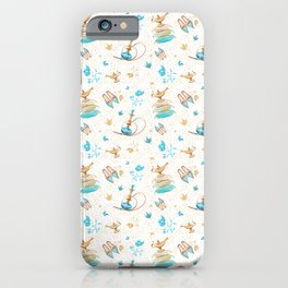 Princess Jasmine Icons on White iPhone Case