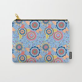 Henna Flowers Carry-All Pouch