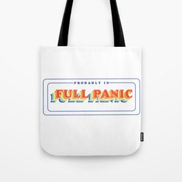 Full Panic - In Rainbow Tote Bag