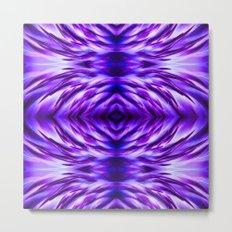 Cyber Monday | Purple Blue Night Metal Print