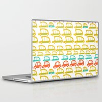 cars Laptop & iPad Skins featuring cars by mummysam