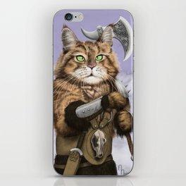 Barbarian Cat iPhone Skin