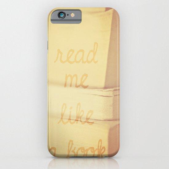 Read Me iPhone & iPod Case