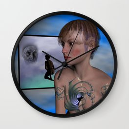 youth and age Wall Clock