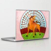 taurus Laptop & iPad Skins featuring Taurus by Sandra Nascimento