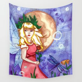 Under the Moon Fay Wall Tapestry