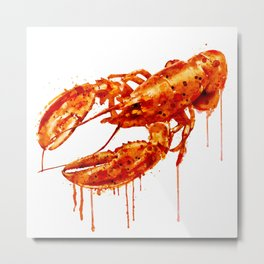 Crawfish Metal Print