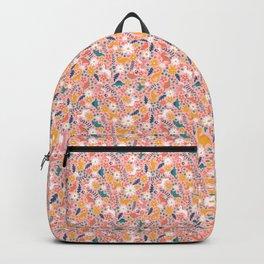 Floral Burst of Dinosaurs + Unicorns Backpack