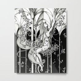 Butterfly hall Metal Print