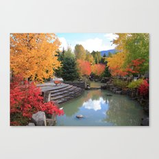Fall in Whistler Canvas Print