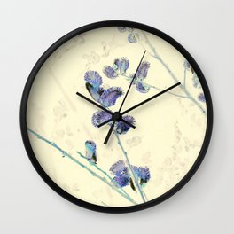 Pussy Willows 4 - IA Wall Clock
