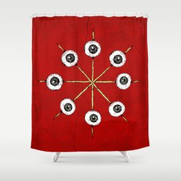 Circle of Hell Shower Curtain