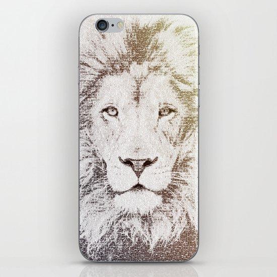 The Intellectual Lion iPhone & iPod Skin