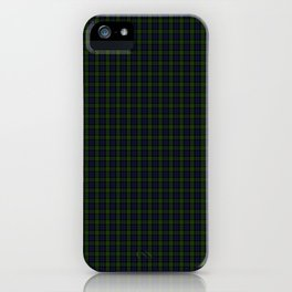 Blackwatch Tartan iPhone Case