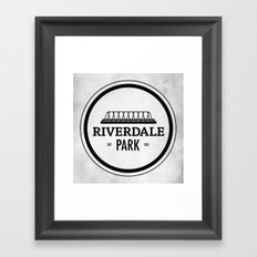 Riverdale Park Framed Art Print