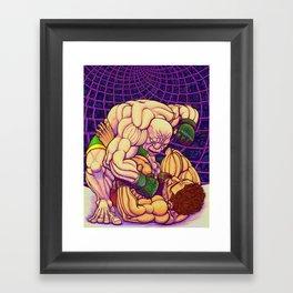 Pounding Framed Art Print