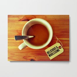 Morning Cup Metal Print